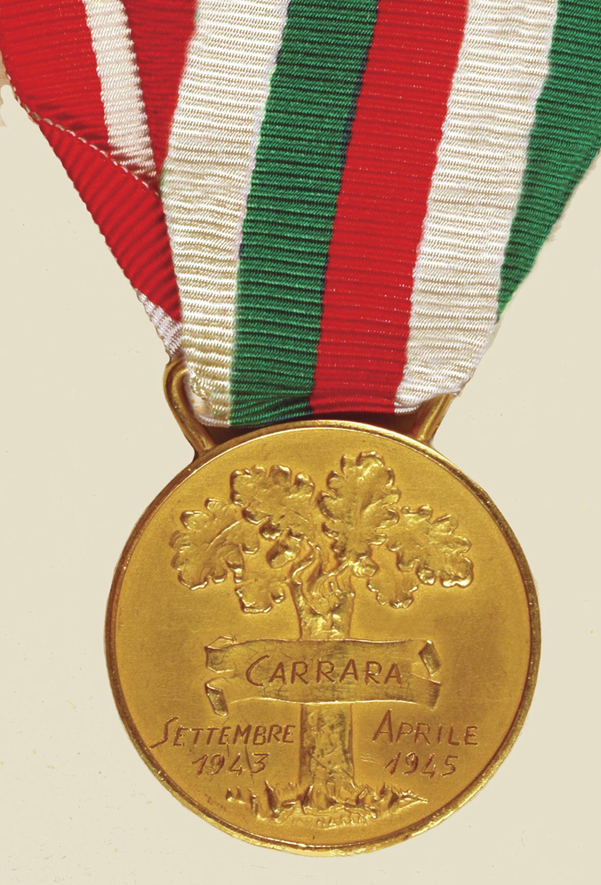 Medaglia d'oro retro