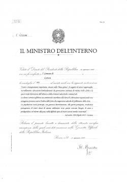 Decreto medaglia d'oro
