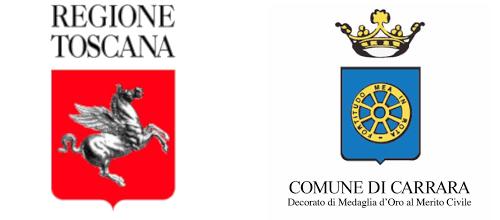 Logo Regione Toscana e Comune di Carrara