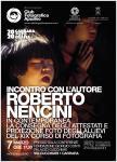 Locandina Incontro con Roberto Nencini