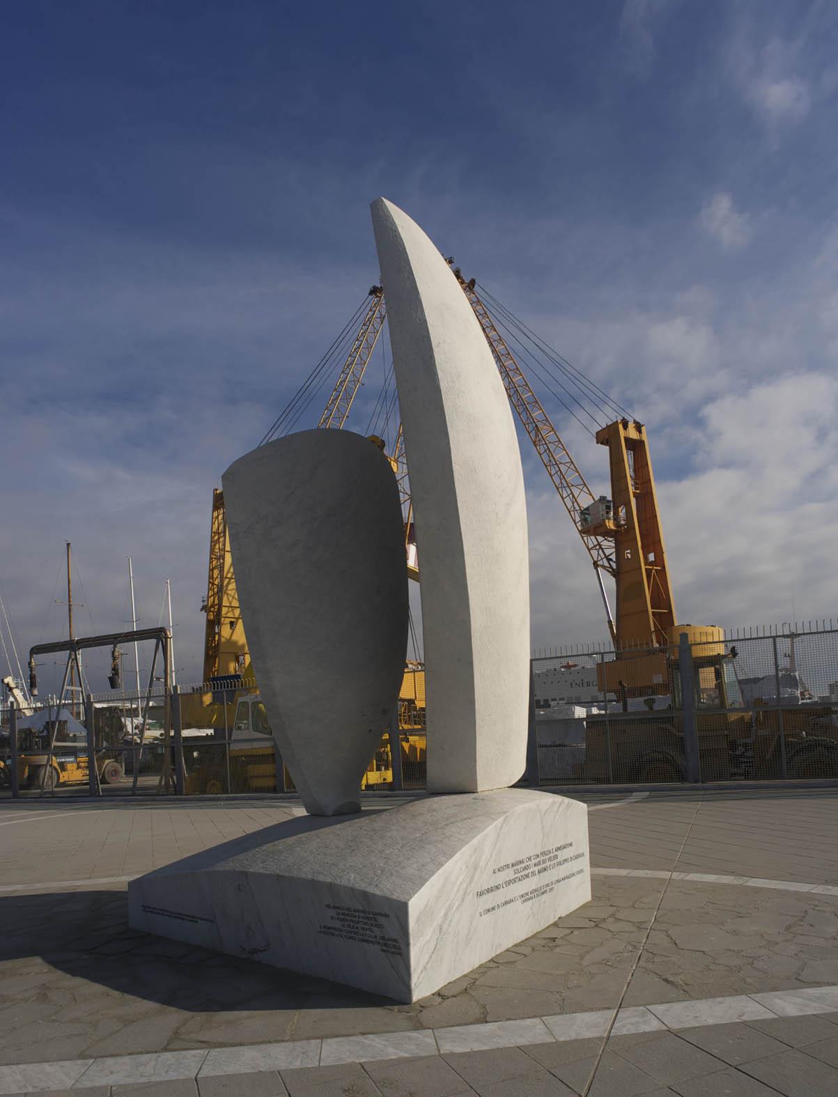 Marina di Carrara - Il Porto (passeggiata)