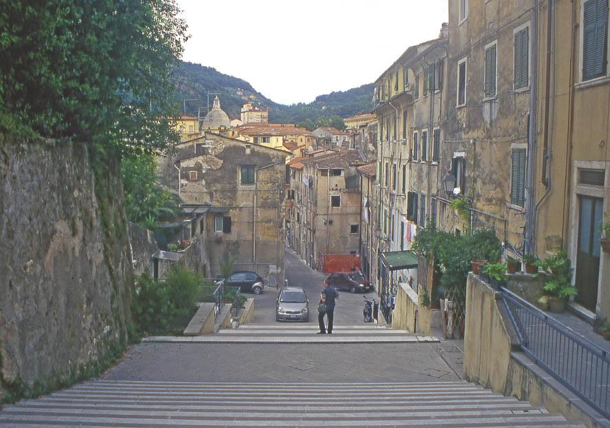 Carrara - Scalinata del Baluardo