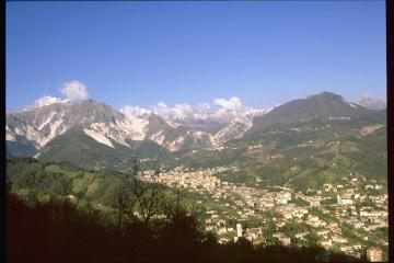 Panoramica di Carrara